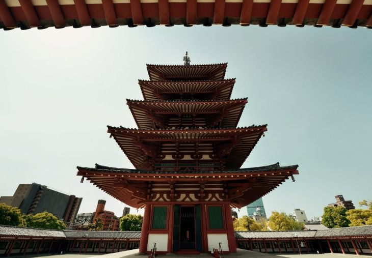 The Shitenoji Temple