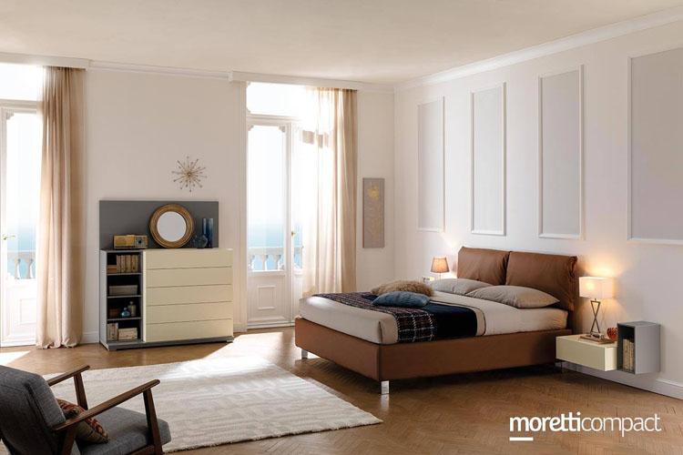 Cameretta in legno con divano letto mc010   cameretta. Camere Matrimoniali A Torino Errebidesign