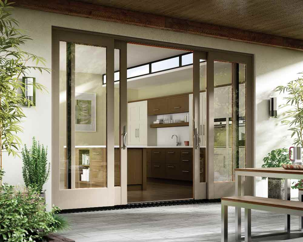 traditional patio doors in san diego