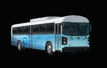 Electric Bluebird Bus - Year of Clean Water on
