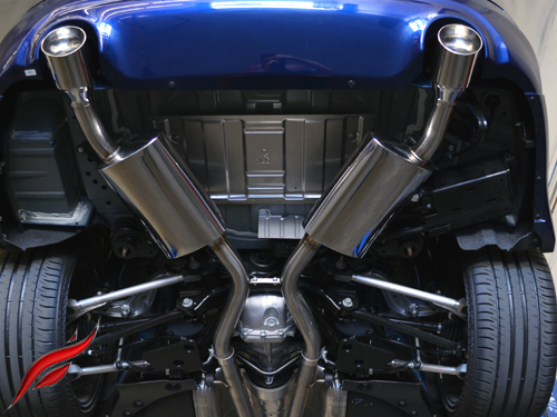 fast intentions q50 3 0l vr30 cat back exhaust