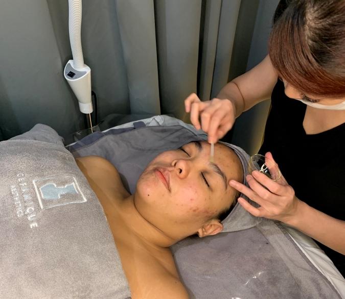 Best Extraction Facial Ceramique Aesthetics Process 2
