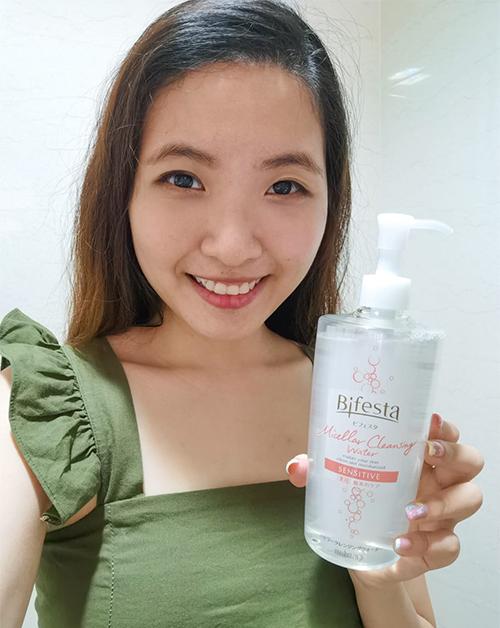 Bifesta Micellar Cleansing Water sensitive grace