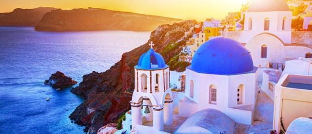 Viajes a Santorini, Grecia
