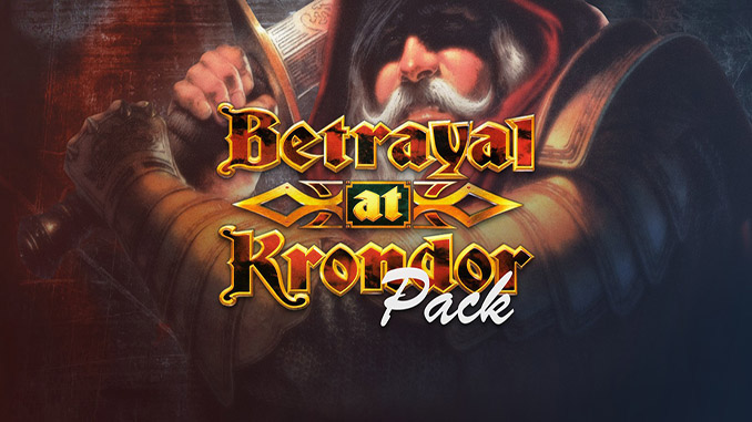 Betrayal at Krondor Pack