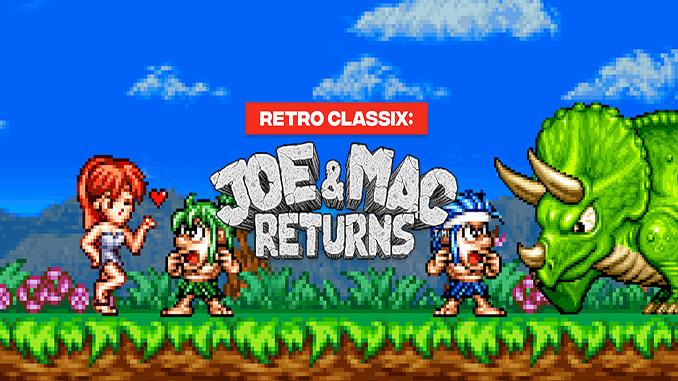 Retro Classix: Joe & Mac Returns
