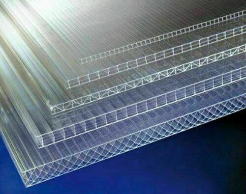 plaque de polycarbonate claire