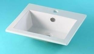 vasque rectangulaire a encastrer
