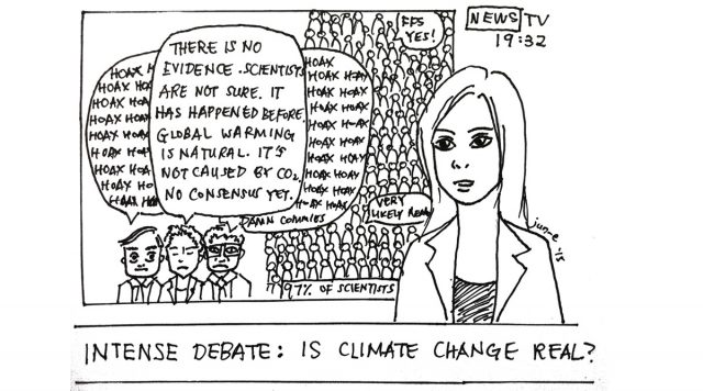 Climate Change Deniers — How they do it Part I: The