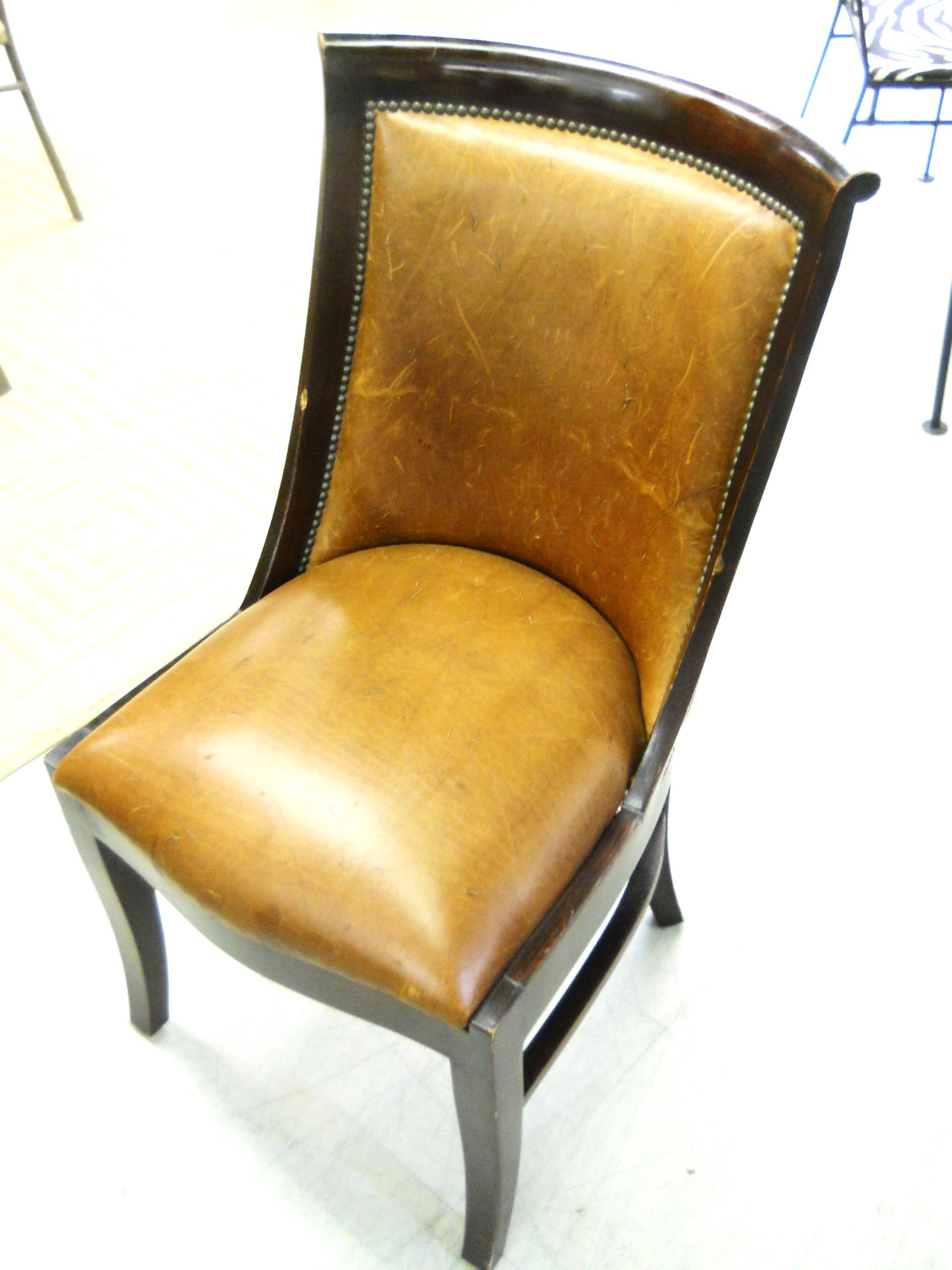 distressed leather desk chair covers for sale in kzn