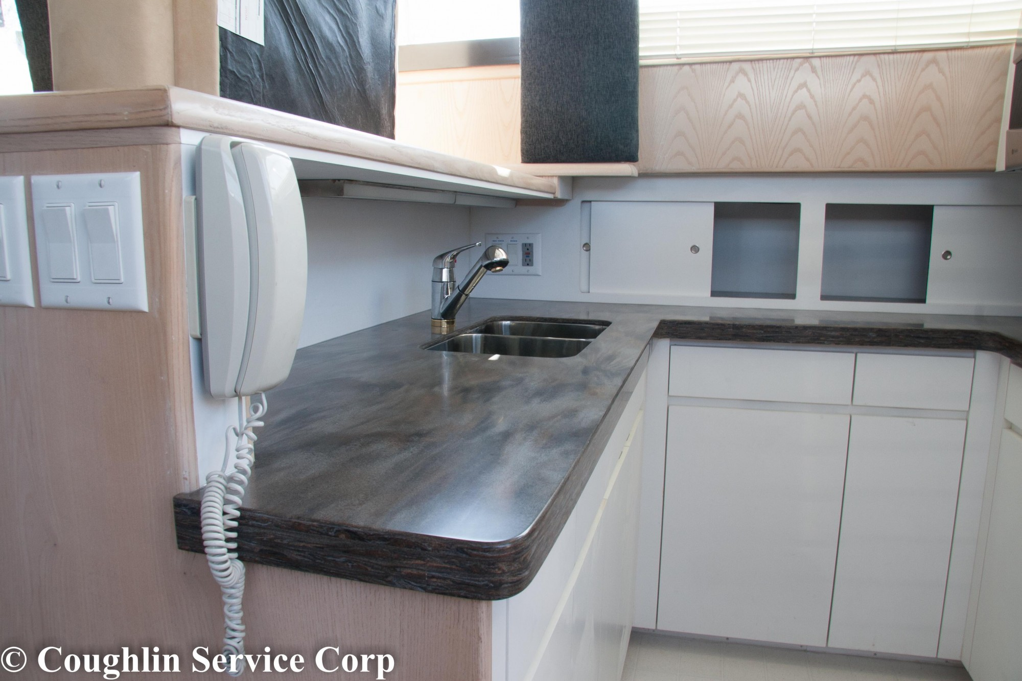 Corian Sorrel Installation In Yacht