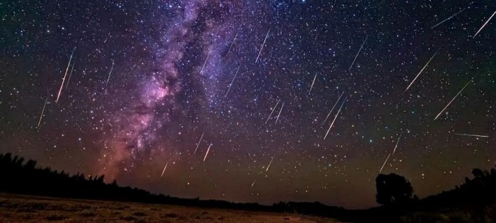 um dos eventos astronômicos do mês de maio, chuva de meteoros