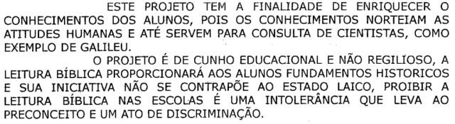 Projeto de Lei em Fortaleza prope leitura obrigatria da Bblia em Escolas Pblicas e Privadas