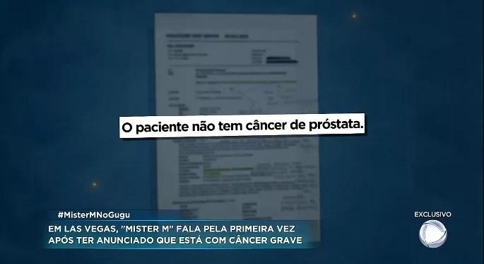 Screenshot 4101 - Mister M pede ajuda para tratar câncer, mas não apresenta exames