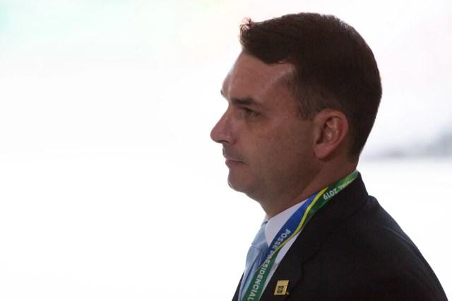 Flávio Bolsonaro posse de bolsonaro