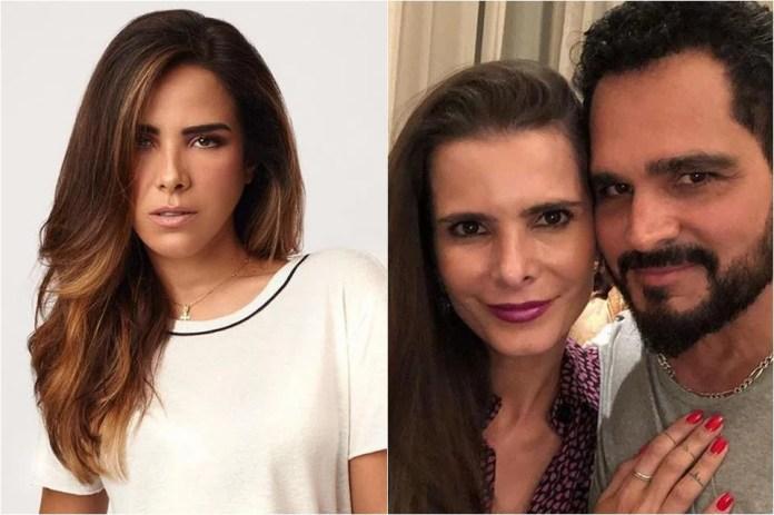 Resultado de imagem para Wanessa Camargo ataca esposa de Luciano durante show