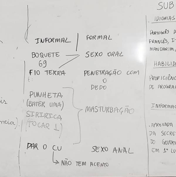 Professor de Brasília ensina crianças de 10 anos sobre sexo anal e oral durante aula de português 20