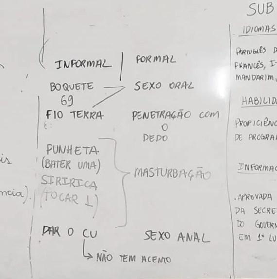 Professor de Brasília ensina crianças de 10 anos sobre sexo anal e oral durante aula de português 23