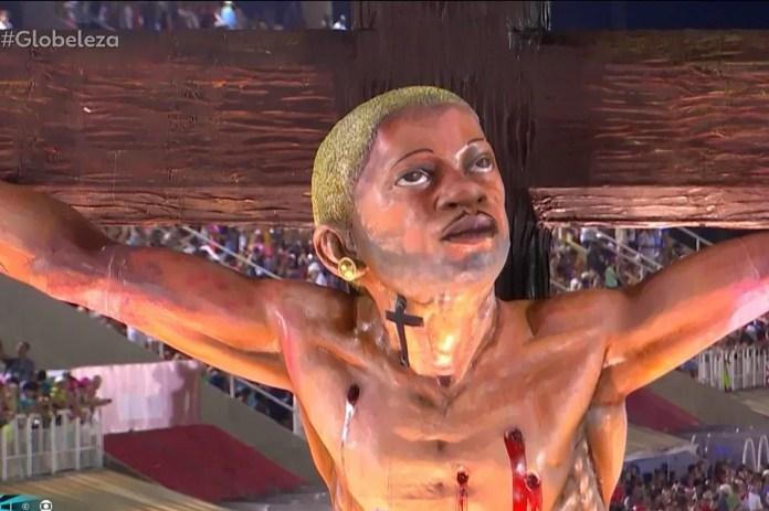 Resultado de imagem para jesus mangueira carnaval