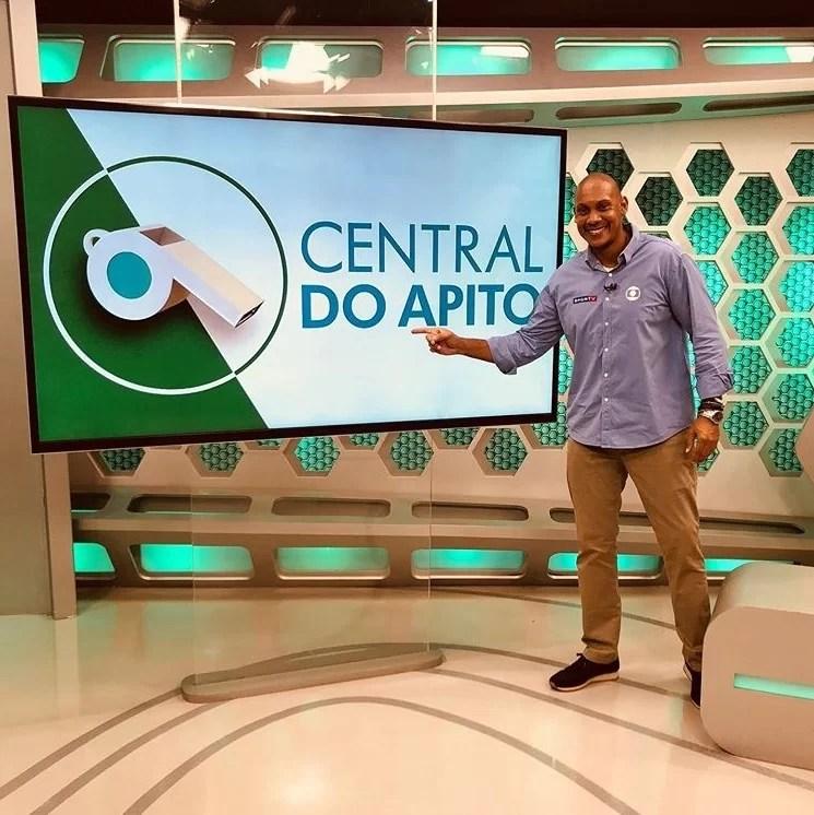 Márcio Chagas central do apito