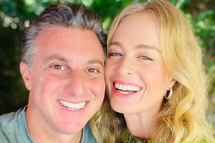 Luciano Huck and Angelica