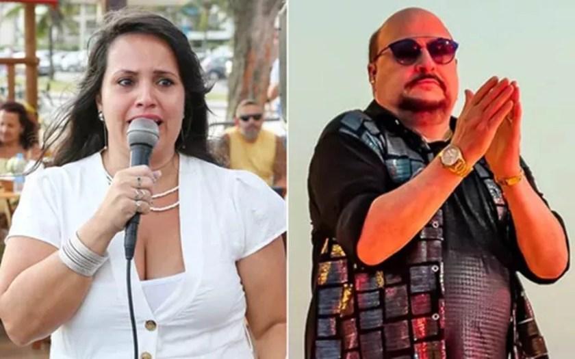 Paulinho Clothes Nova and Elaine Soares
