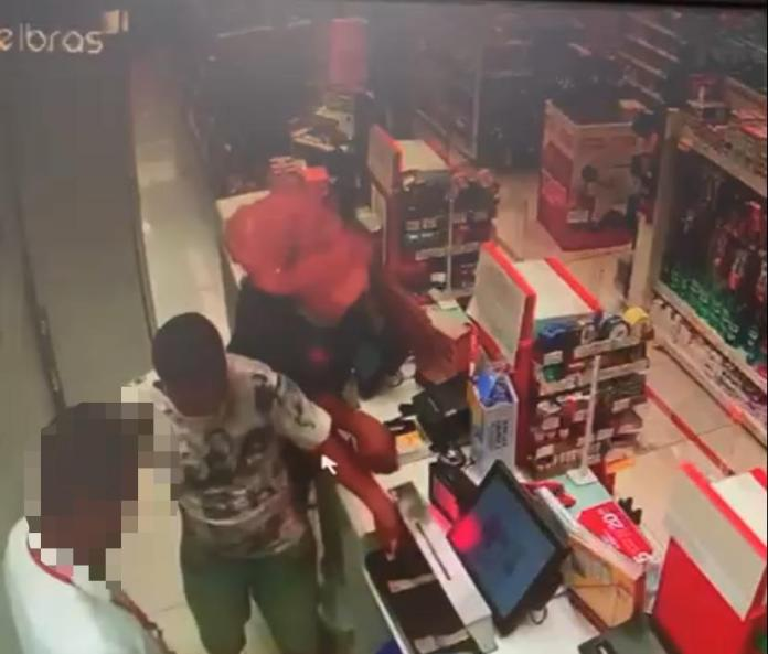 robbery at south wing drugstore