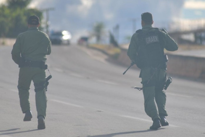forças de segurança