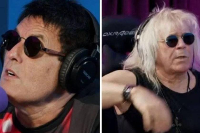 Sergio Mallandro and Ovelha singer