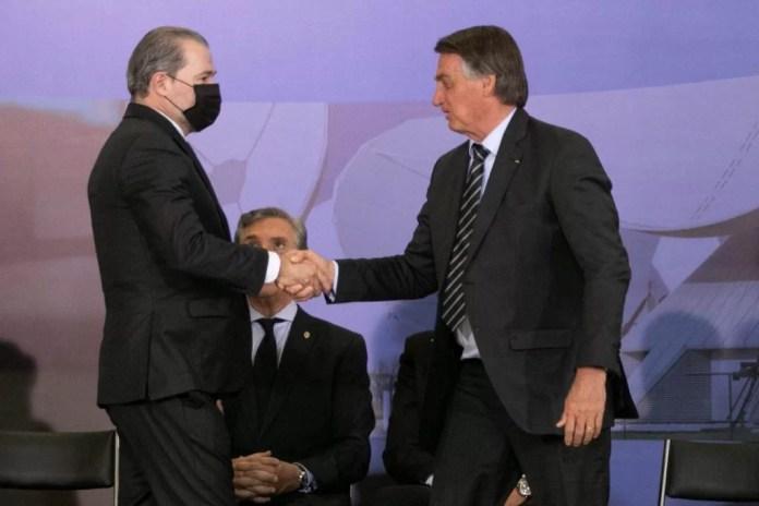 Cerimônia do Prêmio Marechal Rondon de Comunicações conta com a presença do presidente bolsonaro, collor de mello e Toffoli