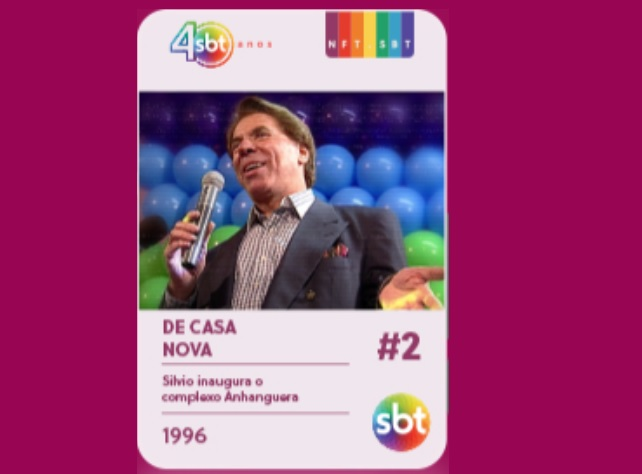 Silvio Santos no De Casa Nova, em 1996