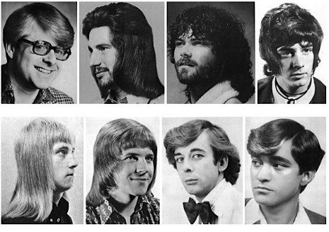 A Collection Of Men's Hairstyles From The 1970s Neatorama