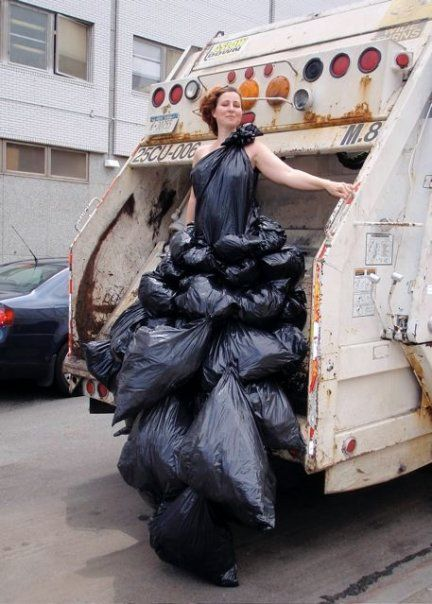 The Garbage Dress  Neatorama