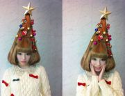 totally crazy christmas hairstyles