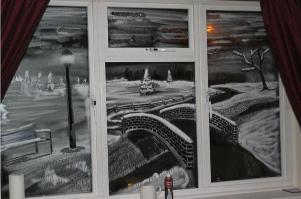 Tom Bakers Snow Windows  Neatorama