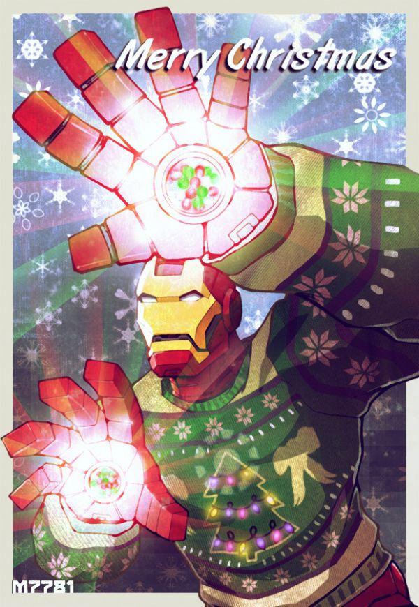 Iron Mans Christmas Sweater Neatorama