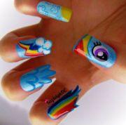 little pony nails - neatorama