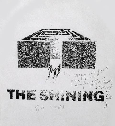 Art for The Shining That Didn't Pass The Kubrick Test