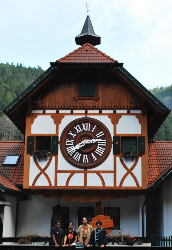The Worlds Biggest Cuckoo Clock Is the Size of a House