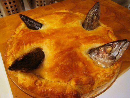 Fish Head Pie - Neatorama