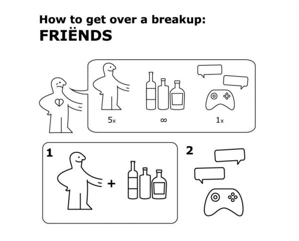 The IKEA-Inspired Manuals On How To Handle A Breakup