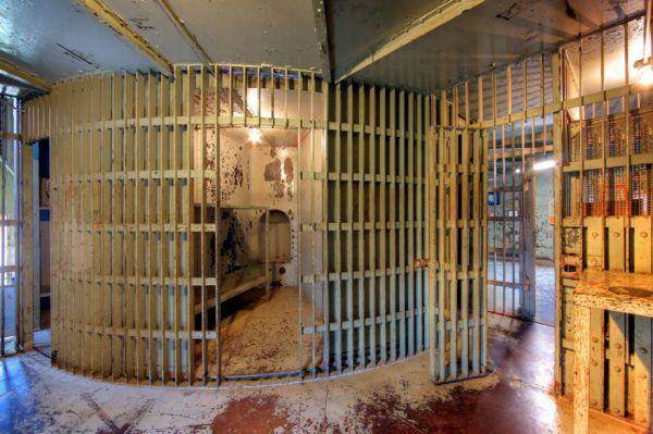 Rotary Jail Cells  Neatorama