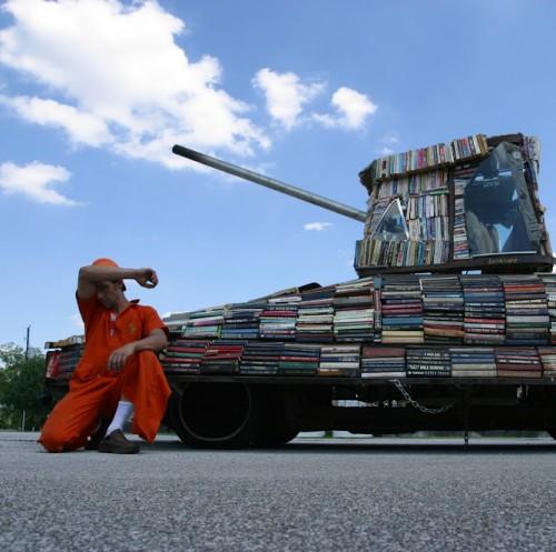 Tank Bookmobile