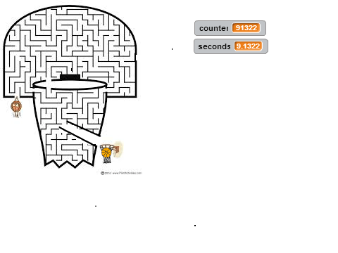 Exercize 3.1 My Maze Game on Scratch