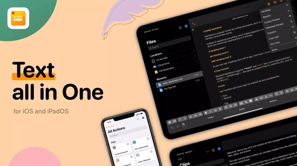 Screenshot of Taio