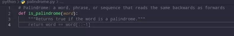 Palindrome Checker