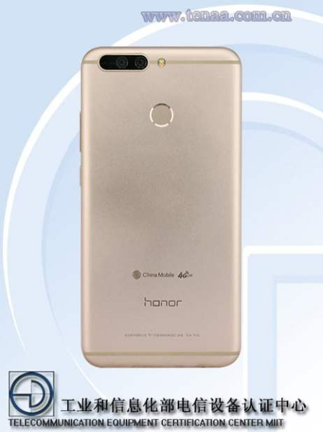 Honor-9-DUK-TL30-TENAA-back