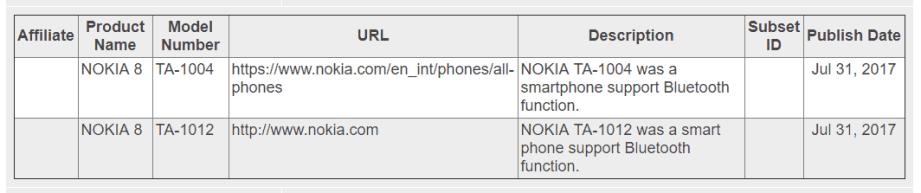 Nok8-bluetooth