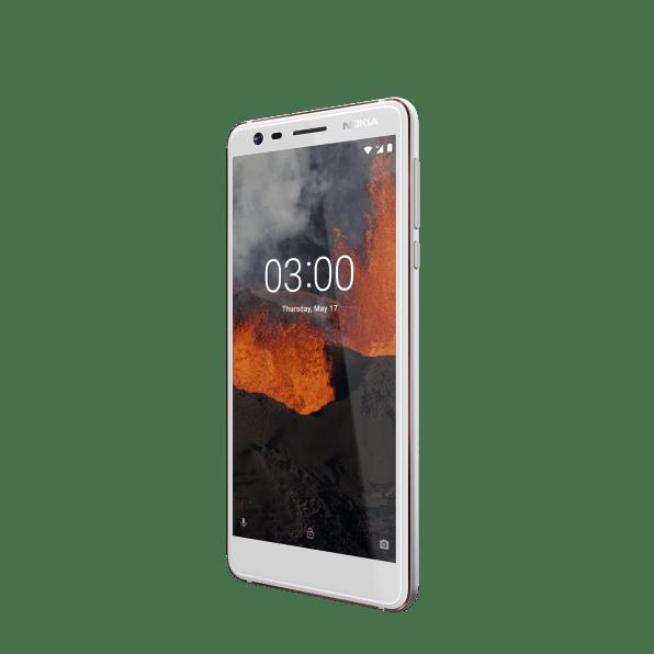 Nokia_3_1-White-3Qtrs