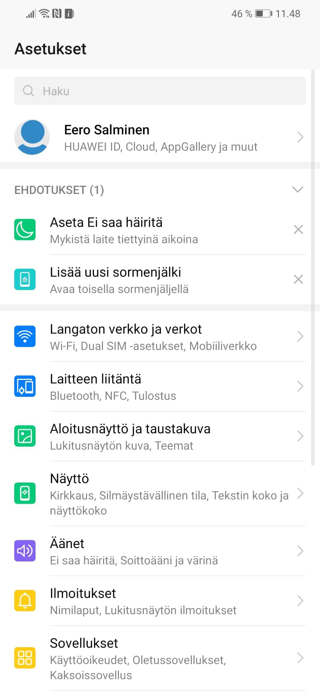 Honor Play sai Android 9 0 Pie -päivityksen Suomessa
